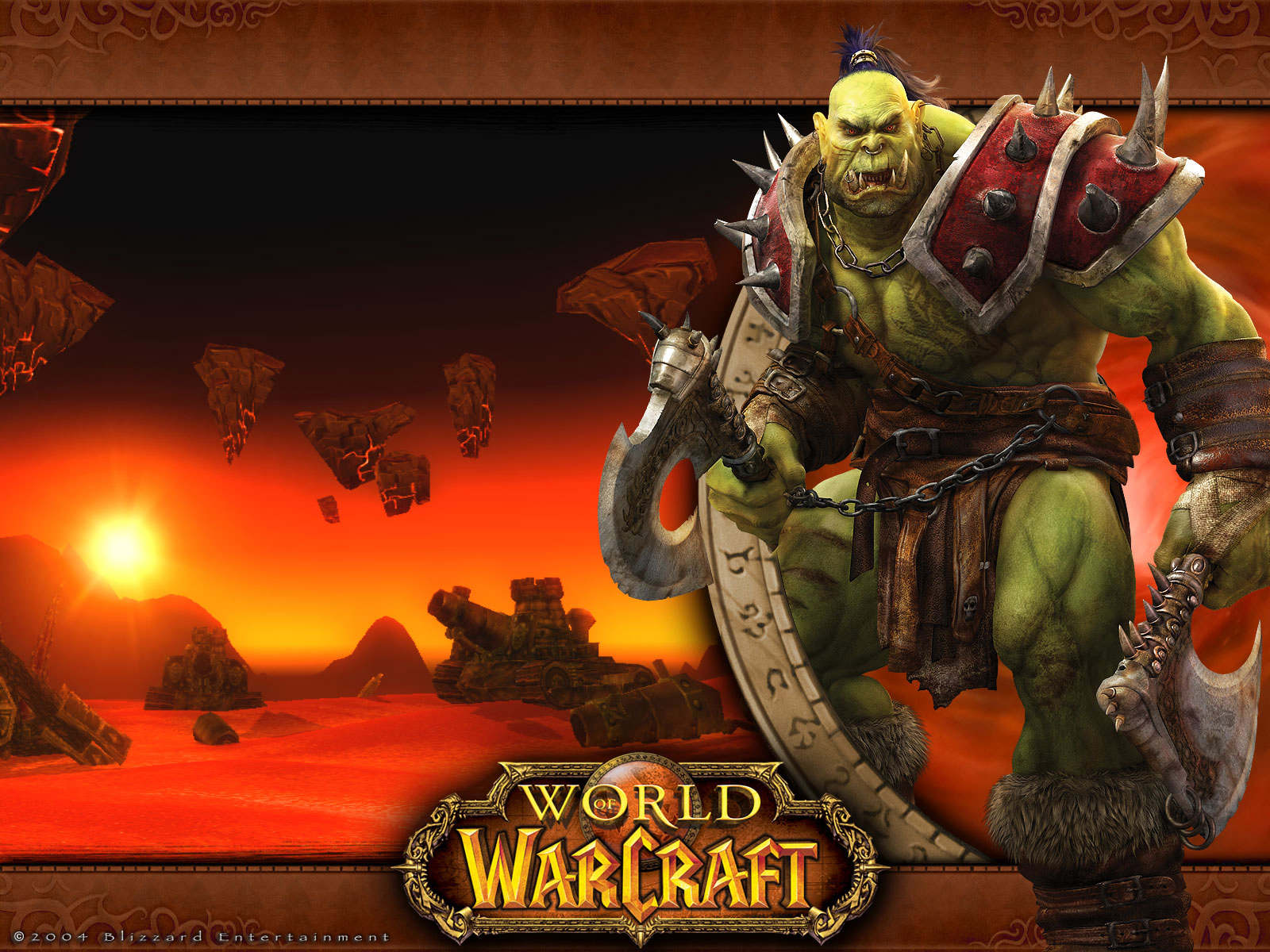 World of Warcraft orcs cartoon comic